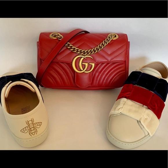 Gucci Shoes   Gucci Velvet Bow Ace